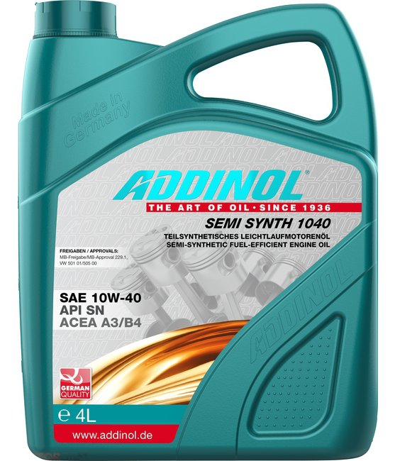 Addinol Semi Synth 1040  4L