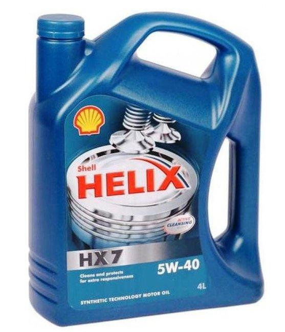 Моторное масло HX7 5W40  4L