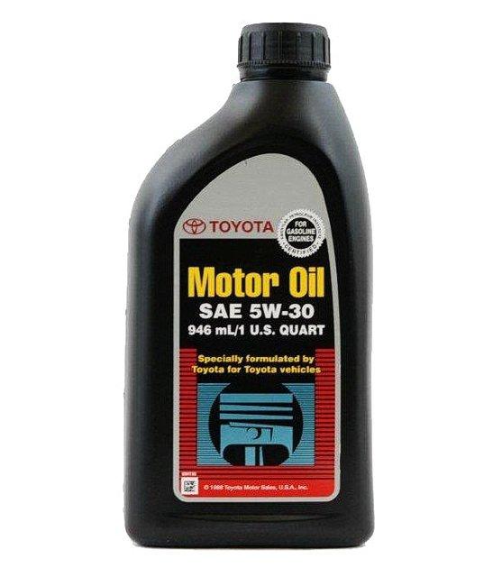 Оригинальное моторное масло Toyota 5w-30 1L