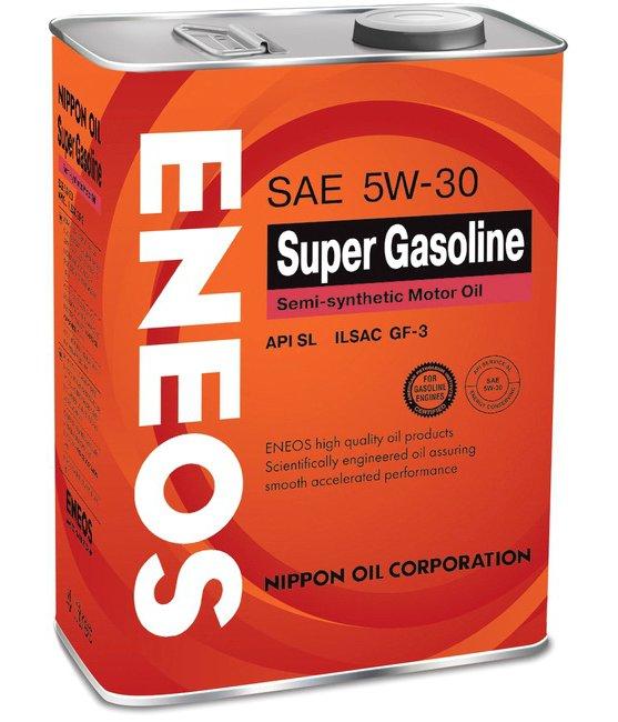 Масло моторное ENEOS Super Gasoline SL 5W-30  4L