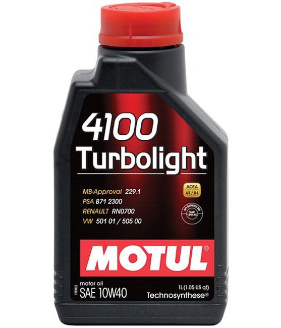 Масло моторное Motul Technosynthese 10W40 4100 Turbolight  1L