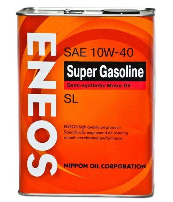 Масло моторное ENEOS Super Gasoline SL 10W-40  4L