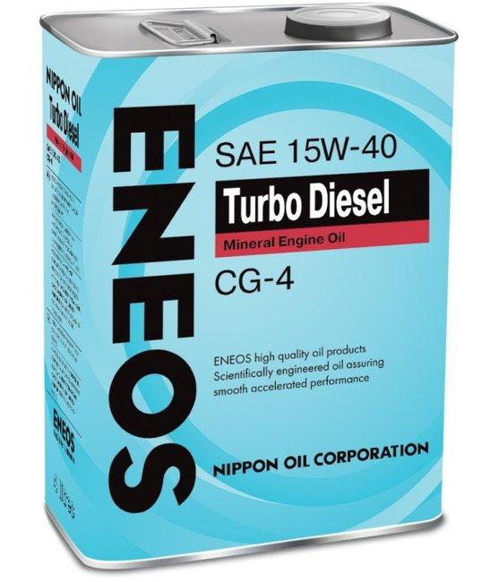 Масло моторное ENEOS Turbo Diesel Mineral CG-4 15W-40  4L