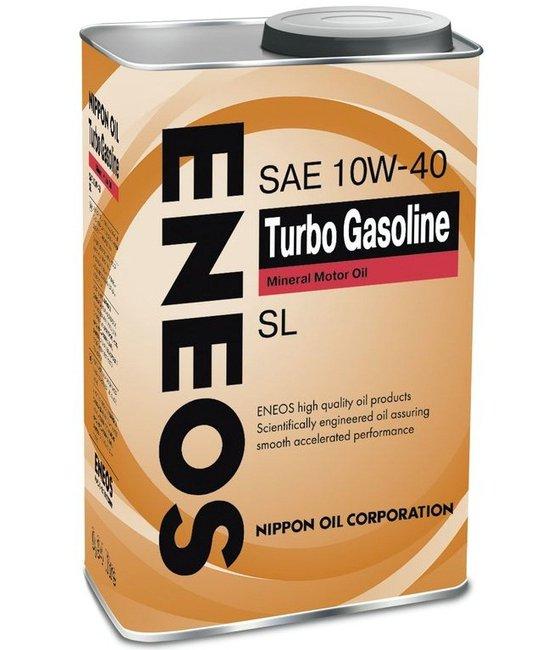 Моторное масло ENEOS Turbo Gasoline SL 10W40  1L